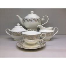 """Сервиз чайный Japonica """"Барокко"""" 17 предметов на 6 персон"""