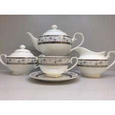 """Сервиз чайный """"Киото"""" 17 предметов на 6 персон"""