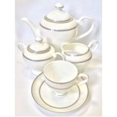 """Сервиз чайный """"Парадиз"""" 17 предметов на 6 персон"""