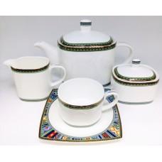 "Сервиз чайный Japonica ""Авангард"" 17 предметов на 6 персон"