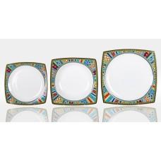 "Набор тарелок Japonica ""Авангард"" на 6 персон 18 предметов"