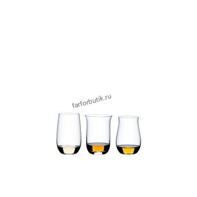 Набор стаканов для виски Riedel Gin O'Clock Tequile, Single Malt Whisky, Cognac (арт. 7414/33)